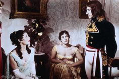 Michèle Morgan, Napoleon. Daniel Gélin, Sacha Guitry.