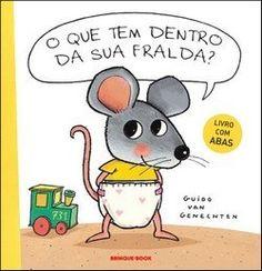Ratinho é muito curioso. Ele gosta de descobrir como tudo é por dentro. Nada escapa de Ratinho, nem mesmo as fraldas de seus amigos. Coelho, Cabrita, Cachorrinho, Bezerro, Potrinho e Porquinho, todos mostram suas fraldas. Então, claro, eles também querem ver a fralda de Ratinho. Uma grande surpresa os espera. Um divertido livro com abas sobre a grande curiosidade de um pequeno rato e sobre a passagem para o penico...