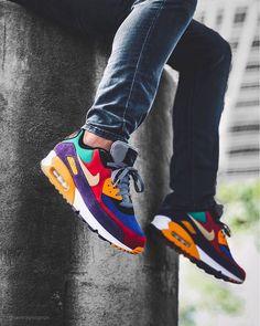 Großhandel Nike Air Max 90 Shoes Airmax Laufschuhe Für Männer Frauen Triple Schwarz Weiß Rosa Blau Grau Schwarz Croc Infrarot Herren Fashion Trainer