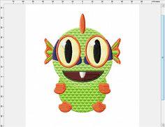 World of Warcraft Murlock Machine Embroidery Design by LightsOutCreations on Etsy