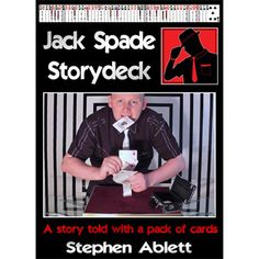 Jack Spade - Storydeck by Stephen Ablett - Jack Spade is a private investigator trying to solve the case of the stolen diamond ring. Told through the revelations of a pack of playing cards, this is a story-deck routine that acts as the finish to Stephen's close-up, parlour and stage shows. Each card is produced from within the deck in time with the narrative. Stephen ... get it here: http://www.wizardhq.com/servlet/the-17694/jack-spade-storydeck-by-stephen-ablett/Detail?source=pintrest