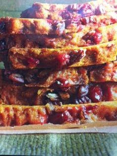 Easy crockpot recipes: Pumpkin Berry Bread Crockpot Recipe