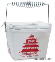 Chinese Food Take Out Purse