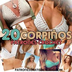 corpiños crochet para tejer patrones gratis Top Tejidos A Crochet, Crochet Lace Edging, Crochet Diy, Crochet Woman, Crochet Stitches, Crochet Patterns, Crochet Basics, Crochet Tank Tops, Crochet Bikini Top