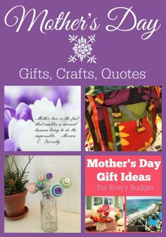 Best Mother's Day Ideas: Gifts, Crafts & More!