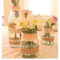 Melina K's Birthday / Flowers - Photo Gallery at Catch My Party Cowgirl Birthday, 7th Birthday, Birthday Party Themes, Birthday Ideas, Mason Jar Projects, Mason Jar Crafts, Mason Jars, Garden Cakes, Horse Party