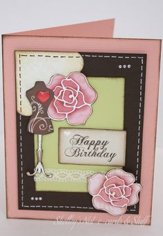 Card made with Harmonie papers.