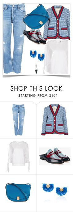 """""""Insta ready"""" by peeweevaaz ❤ liked on Polyvore featuring Gucci, Rosetta Getty, Robert Clergerie, Victoria, Victoria Beckham, Katerina Makriyianni, Pamela Love, 60secondstyle and PVShareYourStyle"""