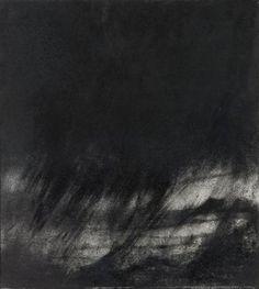 Hughie O'Donoghue Untitled Charcoal 1993, Facebook