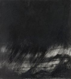 Hughie O'Donoghue Untitled Charcoal 1993, Facebook