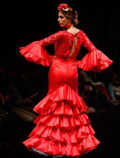 El desfile de Flamencas en Simof 2016. Raúl Doblado