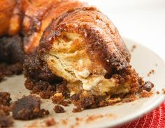 Cream Cheese Monkey Bread. A very sweet way to start the day.
