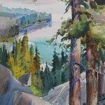 Watercolor Landscape Paintings by Dale Laitinen