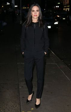 Celebs Make an Appearance on the 'Late Show with Stephen Colbert' - Jennifer Connelly
