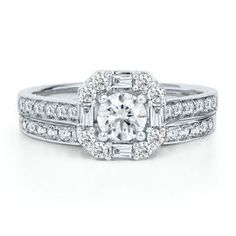 Mozart 1ct TW Diamond Engagement Ring Set, in 14K Gold - Engagement Rings - Rings - Jewelry - Helzberg Diamonds