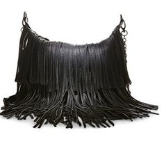 Steve Madden Black Bmocha Fringe Crossbody -- Read more reviews of the product by visiting the link on the image.