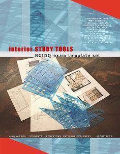 Qpractice designers used these exact furniture templates to save time and pass the NCIDQ Practicum Exam.