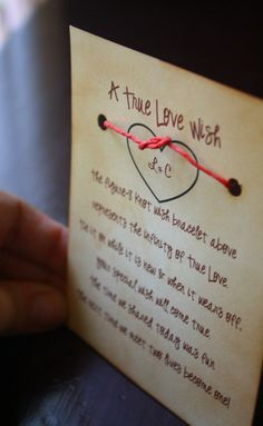 Bridal Shower Favors Wedding Favors Wishing Bracelets Unique Personalized Rustic Romantic Vintage Shabby Chic 25 Bracelet Favors. $45.00, via Etsy.