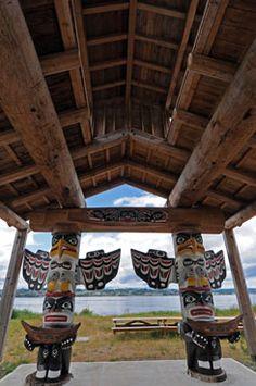 Nuyumbalees Cultural Centre, Quadra Island, B.C.