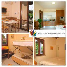 bungalow trilocale standard, villaggio lago di Garda, Sirmione