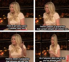 """I remember seeing this episode of Chelsea Lately, when she said this I was like """"Be my life coach!!"""""""