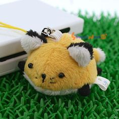 Soft and Downy Mini Animal Stuffed Toy Cell Phone Strap (Fox) - Hamee.com
