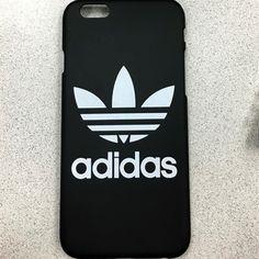 Adidas iPhone 6 case Matte black plastic black case with printed adidas logo Adidas Accessories Phone Cases Cool iPhone stuff Iphone 6 Cases, Cute Phone Cases, Phone Covers, Capas Iphone 6, Pochette Portable, Accessoires Iphone, Coque Iphone 6, Cool Cases, Adidas Logo