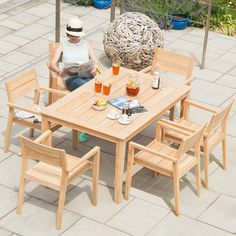 FREE Delivery and the lowest prices on the beautiful Alexander Rose Roble 6 Seater Dining Set x from the LARGEST showroom in the UK. Dining Furniture, Garden Furniture, Outdoor Furniture Sets, Outdoor Dining, Outdoor Sofa, Outdoor Decor, Dining Set, Dining Table, Traditional Design
