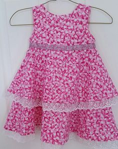 Another adorable dress by Julia's Bowtique facebook page Cute Dresses, Summer Dresses, Facebook, Sewing, Ideas, Fashion, Pretty Dresses, Dressmaking, Moda