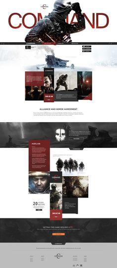 command游戏网页 网页 游戏/娱乐 佳大大丶 - 原创作品 - 站酷 (ZCOOL)