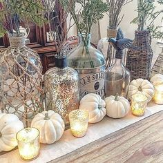 When looking for affordable Fall decor, you need look no farther than accent pieces. For inspiration, we scoured Instagram to see how real girls were styling their fabulous finds.