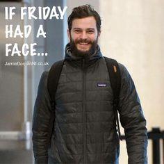 If Friday had a face... #JamieDornan #JDNI #TGIF
