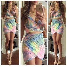 Standard Tie-Dye Two-Piece – Dream Closet Couture