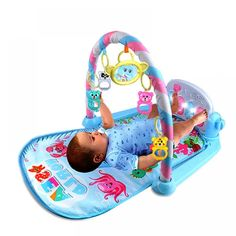 Baby Pedal Piano Body Building Instrument For Newborn Baby Music Game Blanket Toy Ringing Bell Baby Fitness Game Activity Frame Baby Activity Gym, Activity Games, Baby Piano, Best Kids Toys, Interactive Toys, Baby Music, Infant Activities, Music Games, Toddler Toys