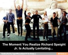 The Moment You Realize Richard Speight Jr. Is Actually Levitating... SPN