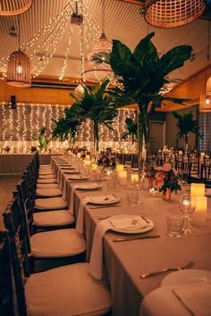 Colourful blooms light up this Romantic Casuarina Wedding at country wedding venue Osteria. The bride wears a beautiful long sleeve dress from George Elsissa. Basket Lighting, Estilo Tropical, Wedding Table Settings, Wedding Receptions, Garden Wedding, Elegant Wedding, Real Weddings, Wedding Planning, Lounge