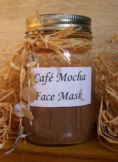 Poppy's Money Tree House: Make Your Own Cafe' Mocha Face Mask! Brighten Your Complexion With This Easy to Make Scrub Easy Homemade Face Masks, Face Scrub Homemade, Homemade Facials, Homemade Skin Care, Homemade Beauty, Diy Beauty, Beauty Secrets, Beauty Tips, Organic Skin Care