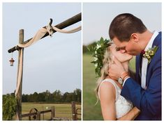 Bohemian Wedding at Double C Ranch in Coates, NC by Amanda and Grady Photography.