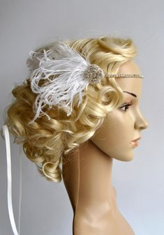 Ready to ship Simply adorable. All blink. Elegant and classy !    Lovel delicate high sparkle rhinestone headband - clear and silver rhinestones