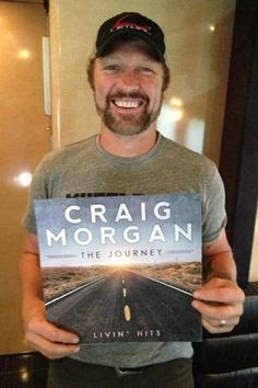 """Craig Morgan's New Album """"The Journey - Livin' Hits"""" Available September 3rd"""