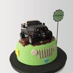 Torta Jeep Wrangler 1987 Cake  - Cake by Giovanna Carrillo
