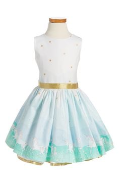 Fiveloaves Twofish Unicorn Magic Party Dress (Toddler Girls, Little Girls & Big Girls) available at #Nordstrom