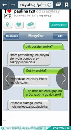 Haha Funny, Lol, Polish Memes, Funny Mems, Everything And Nothing, Im Not Okay, Funny Text Messages, Funny Pictures, Harry Potter