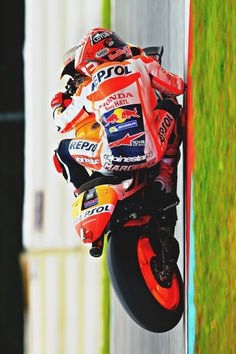 Marc Marquez on pole position in Brno (Photo l Michelin)