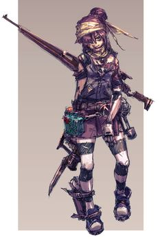 I'm a sucker for good artwork. That, and Gaige is a badass. Borderlands Series, Tales From The Borderlands, Borderlands Cosplay, Female Character Design, Character Art, Fantasy Characters, Female Characters, Fallout New Vegas, Fallout 3