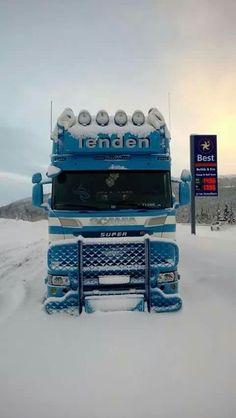 V8 in the snow