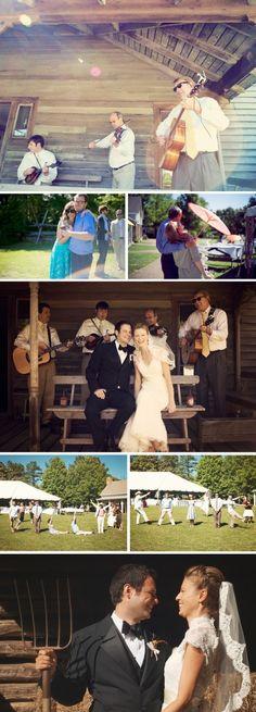 Another pretty little southern wedding @Danielle Harrison