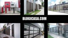 Diseños y Tipos de Rejas Modernas y Minimalistas para Casas
