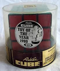 "Rubik's Cube, ""Toy of the Year 1980"""