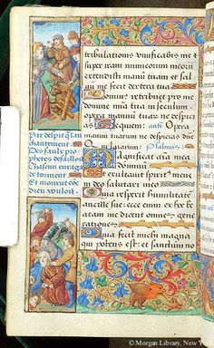 Book of Hours, MS H.5 fol. 105v - Images from Medieval and Renaissance Manuscripts - The Morgan Library & Museum